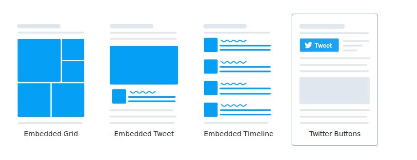 Choose Twitter Button