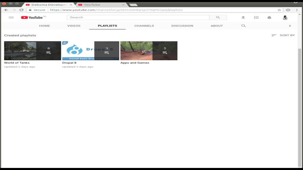 YouTube monetization Deboma Playlists