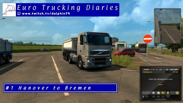 ETS2 - Euro Trucking Diaries - Hanover to Bremen (Euro Truck Simulator 2)